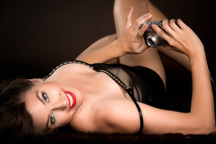 Pinup with camera (mapaolini) Tags: michael paolini