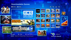PlayStation Store - SOE Category