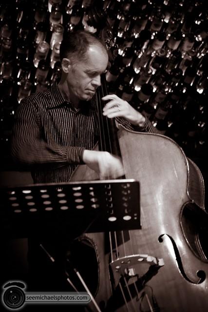 Jason Robinson Quintet at Dizzy's 121810 © Michael Klayman-006