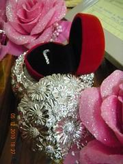 Ring (Colours of Hantaran) Tags: pink black perkahwinan hantaran gubahan