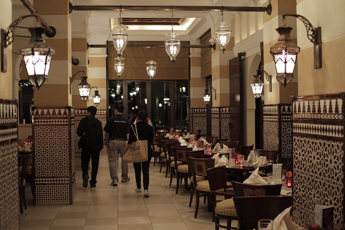 Dinner in Mina Salam