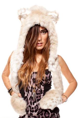 Spirit hood Snowleopard blacklabel
