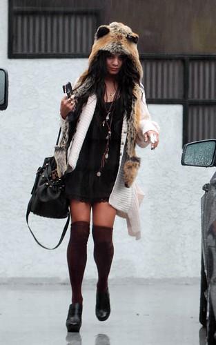 Vanessa Hudgens Spirit Hood