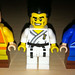 LEGO Collectible Minifigures Series 2 Karate Master vs  Avatar The Last Airbender