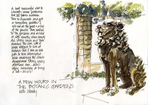 101224 Sketchy Xmas Eve03 Lion