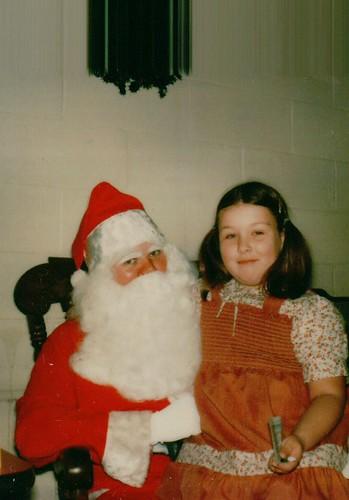 Becke & Santa, Christmas 1978