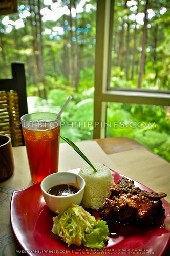 Camp John Hay Baguio   BBQ Ribs at Little Johns and the Secret Garden