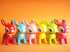 Kawaii Cute Puchi/Petit Babie Baby Deer Key Chain Charms
