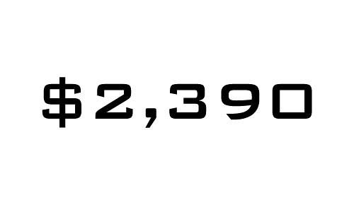 $2390