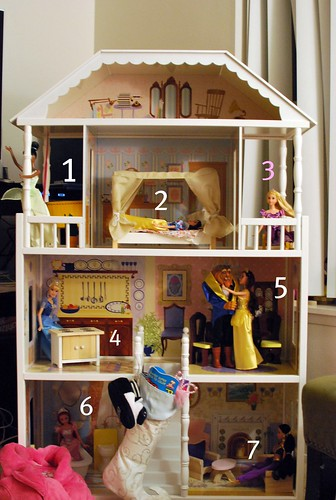 Doll house countdown