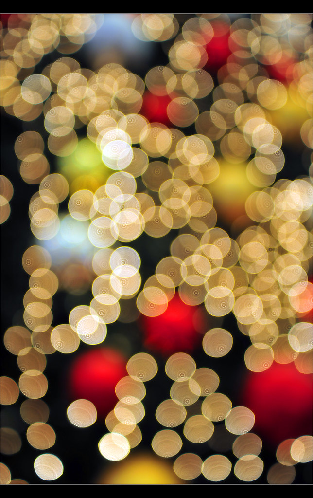 Christmas Lights' bokeh