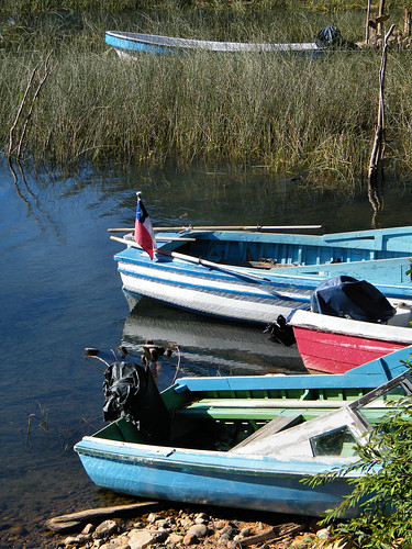 Boats in Peulla by katiemetz, on Flickr