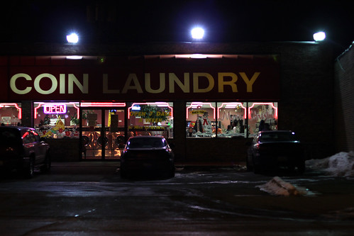 Laundry at Night