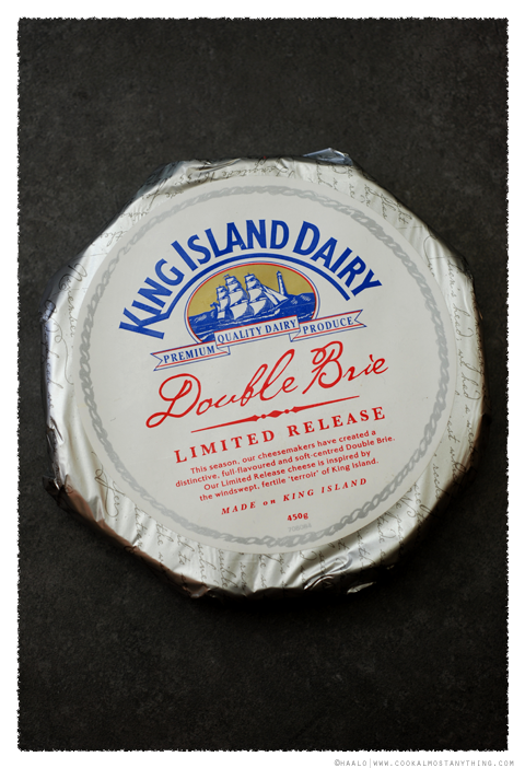 King Island Double Brie Limited Release© by Haalo