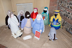 Knitivity (photoverulam) Tags: christmas cathedral stalbans knitivity