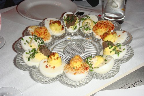 Deviled Eggs @ Clover Club - Cobble Hill, Brooklyn