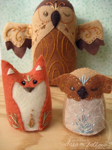 fox : owl