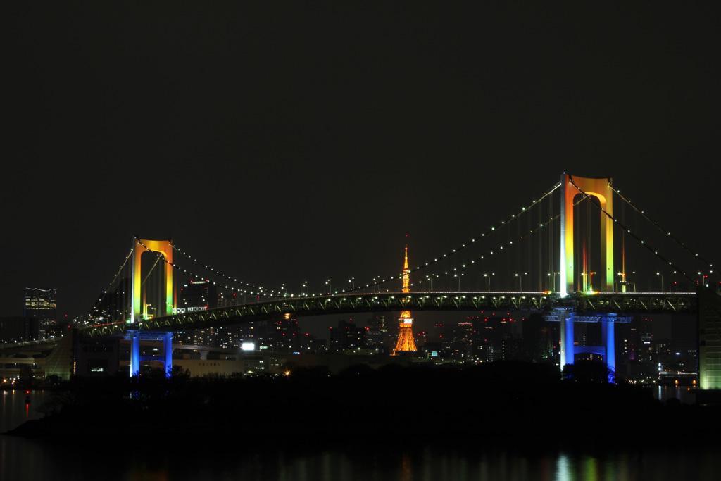Rainbow bridge illumination 12(TOKYO)