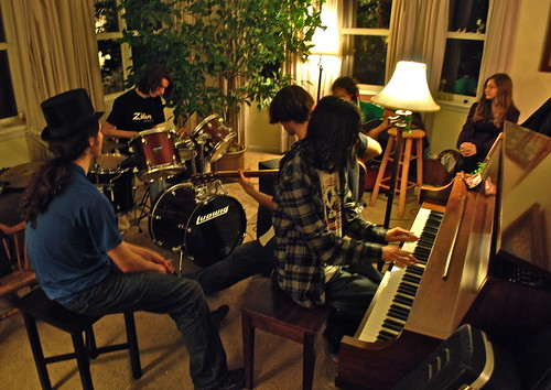 New Year's Eve jam session