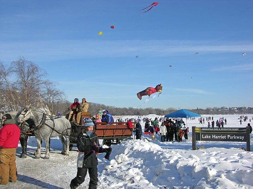 Winter Kite Festival 2010 overview