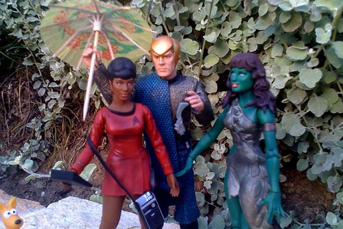 Romulan and friends - closeup