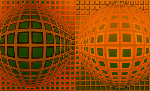 "Victor Vasarely • <a style=""font-size:0.8em;"" href=""http://www.flickr.com/photos/30735181@N00/5324130720/"" target=""_blank"">View on Flickr</a>"
