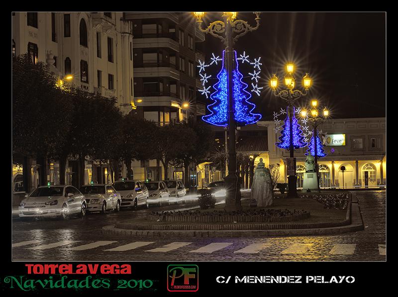 Torrelavega - Menendez Pelayo  - Navidades 2010
