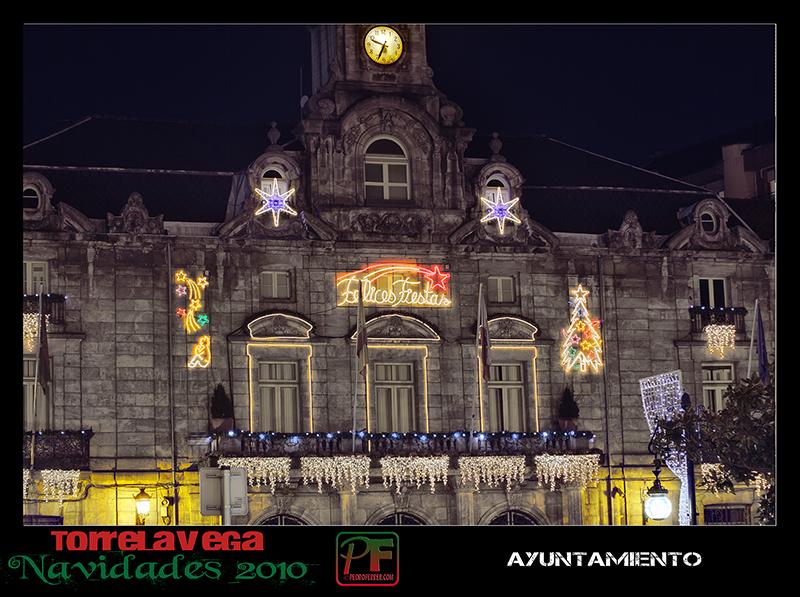 Torrelavega - Ayuntamiento  - Navidades 2010
