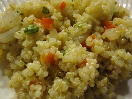 ... That Lower Cholesterol: Healthy Side Dish: Red Pepper Quinoa Salad