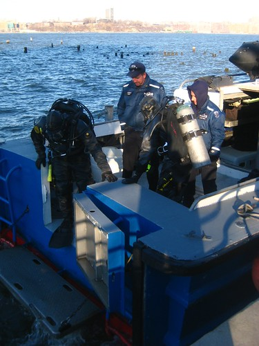 divers and capt. conroy