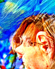 Model meets Van Gogh (tomswift46 ( Hi Res Images for Sale)) Tags: distortion transformation overlay vangogh hdr