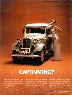 1973 Nissan Motor Company (Int'l)