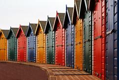 Beach huts. (Susan SRS) Tags: england winter canoneos7d devon beachhuts sigma18250 dawlishwarren img9000