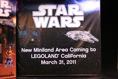 Star Wars Miniland Opening March 31