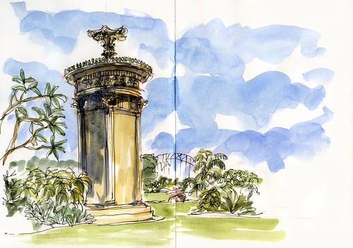 110108 Botanic Gardens choragic monument