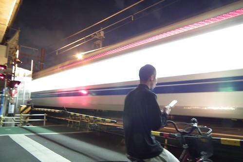 電車スローシャッター