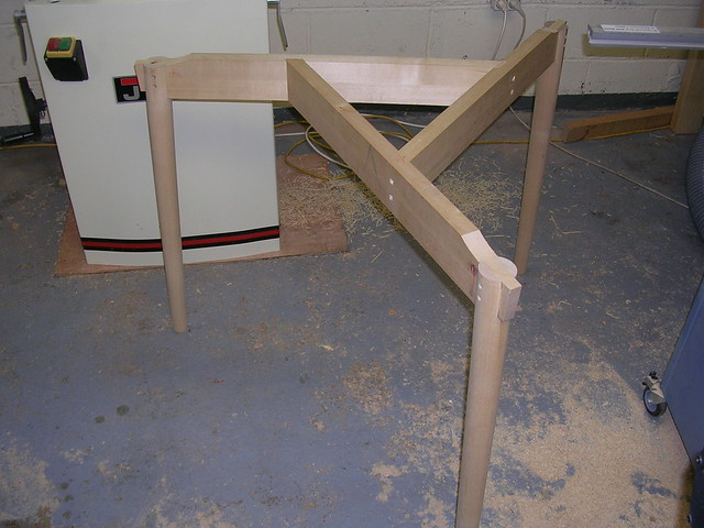 Onderstel Ronde Tafel : Ronde tafel wip archief woodworking