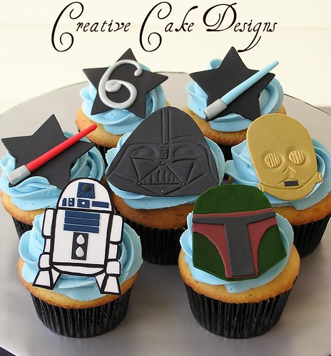 star wars cake designs. Star Wars Cupcakes