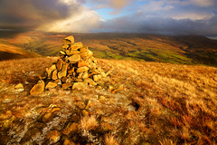 West Baugh Fell from Knott (M J Turner Photography ) Tags: yorkshiredales knott wildboarfell howgillfells swarthfell westbaughfell