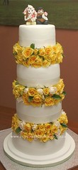 Gazelee's wedding cake! (Dot Klerck....) Tags: wedding southafrica capetown grace dot mrmrspotatohead cupcakesbydesign