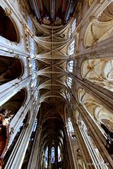glise Saint-Eustache - Plafond (L'Abominable Homme de Rires) Tags: paris church canon nef 7d gothique glisesainteustache