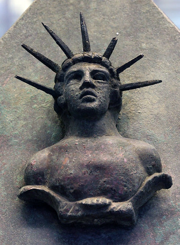 Bronze bust of Mithras from Ostia(?)
