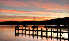 "Sunset over Windermere • <a style=""font-size:0.8em;"" href=""https://www.flickr.com/photos/21540187@N07/5339907201/"" target=""_blank"">View on Flickr</a>"
