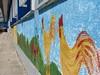 Pintura de paredes de edifício