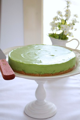 Green tea chesse cake