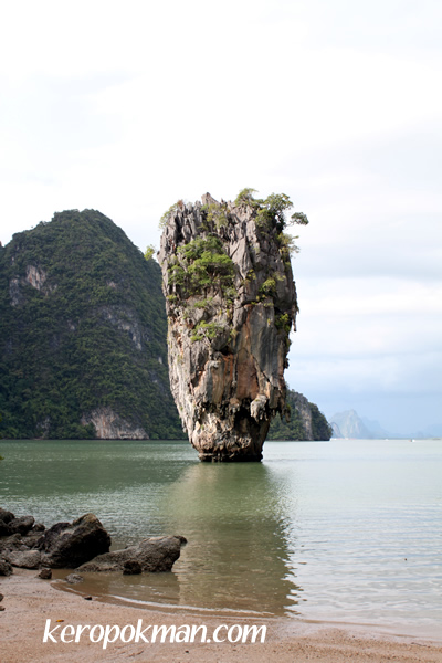 The Rock at James Bond Island