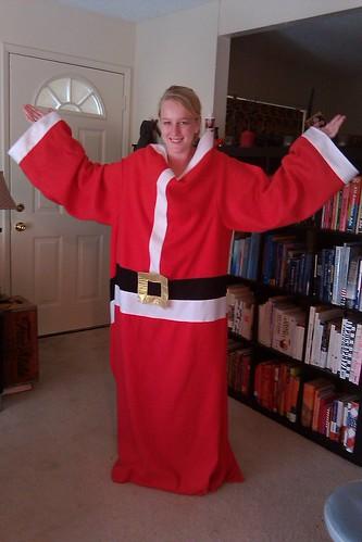 Thryn's Santa Snuggie