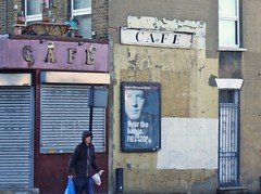 (JudyGr) Tags: london sign cafe east guesswherelondon londonguessed shuttered gwl guessedbyanya123