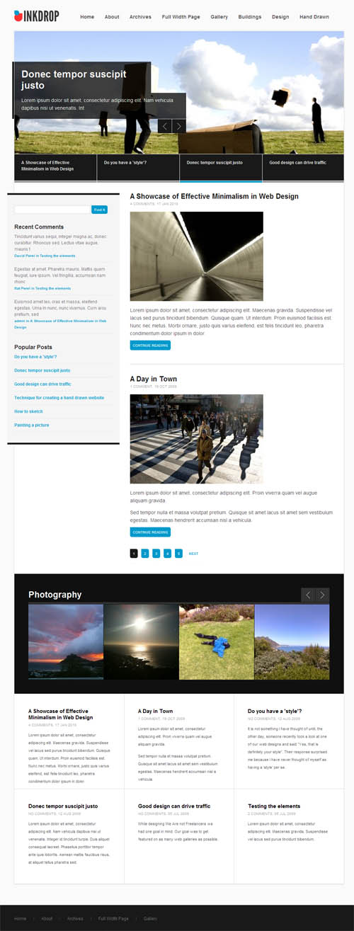 inkdrop-wordpress-theme