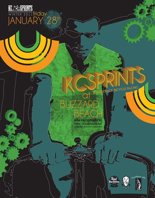 KC Sprints @ Buzzard Beach January 28th flyer